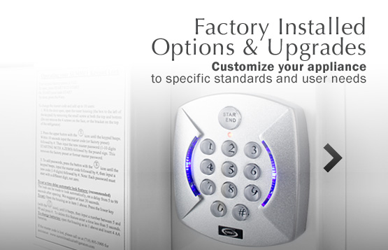 Factory Installed Options & Upgrades